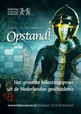 Vanaf 2 april, Opstand! Het grootste belastingoproer uit de Nederlandse geschiedenis