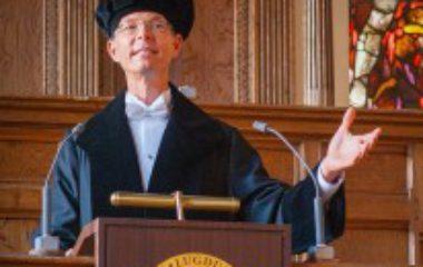 Oratie nieuwe buitengewoon hoogleraar Rex Arendsen