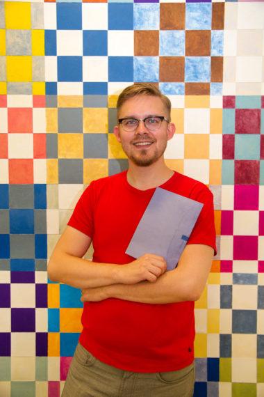 Foto expositie; Alle kleuren blauw