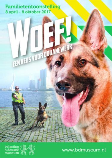 WOEF!- een neus voor douanewerk