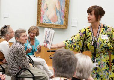 Onvergetelijk – Rondleiding voor mensen met dementie