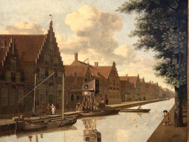 """Schilderij uit onze collectie siert boek """"Brouwgeschiedenis Haarlem"""""""